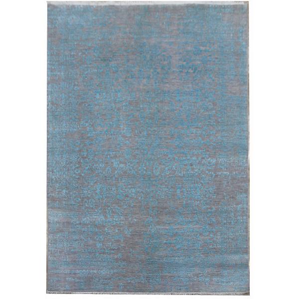 Ručně vázaný kusový koberec Diamond DC-JK 1 Silver/light blue