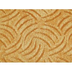 Metrážový koberec Tango 283 Žlutý