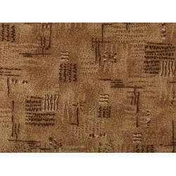 Metrážový koberec Nava 43 Hnědá
