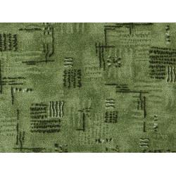 Metrážový koberec Nava 24 Zelená