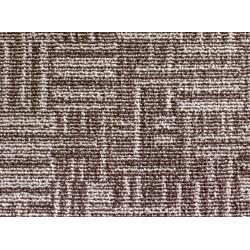 Metrážový koberec Marioka 17446 Hnědobéžový