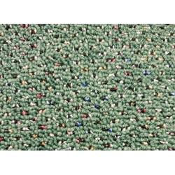 Metrážový koberec Techno 25770 zelená