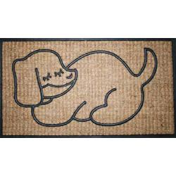 Rohožka Kokos + guma spící pes