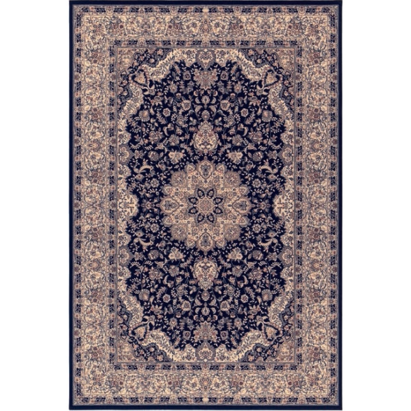 Osta luxusní koberce Kusový koberec Diamond 7252 520, kusových koberců 300x400 cm% Modrá, Béžová - Vrácení do 1 roku ZDARMA vč. dopravy