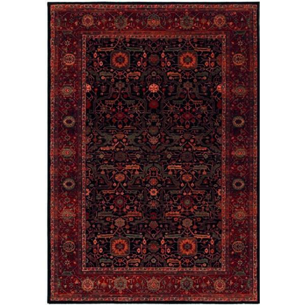 Osta luxusní koberce Kusový koberec Kashqai 4348 500, kusových koberců 240x340 cm% Červená - Vrácení do 1 roku ZDARMA vč. dopravy