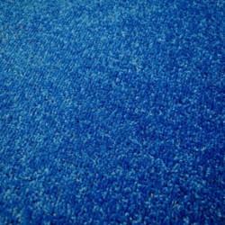 Kusový tmavě modrý koberec Eton čtverec