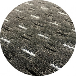 Kusový koberec Valencia antracit kulatý