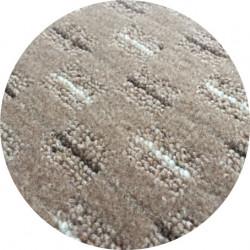 Kusový koberec Valencia béžová kulatý