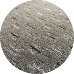 Kusový koberec Valencia šedá kulatý