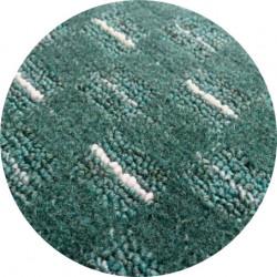 Kusový koberec Valencia zelená kulatý