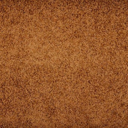 Kusový hnědý koberec Color Shaggy čtverec