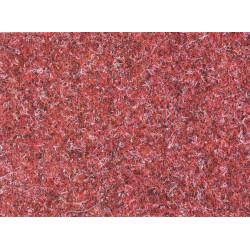 Metrážový koberec Lindau 40 Červený