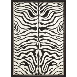 Kusový koberec Contempo CON 450 black-white