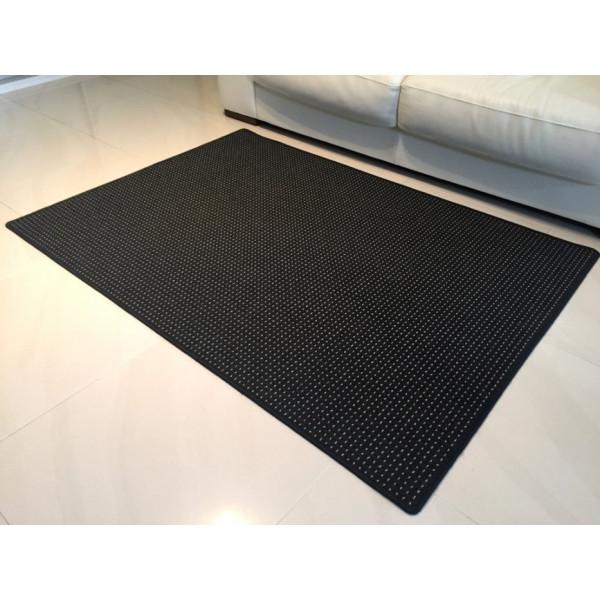 Vopi koberce Kusový koberec Birmingham antra, koberců 57x120 cm Černá - Vrácení do 1 roku ZDARMA