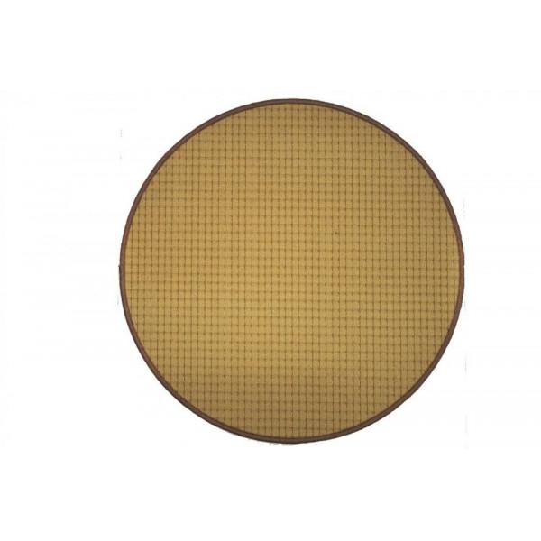 Vopi koberce Kusový koberec Birmingham béžový kulatý, koberců 57x57 - kruh Béžová - Vrácení do 1 roku ZDARMA