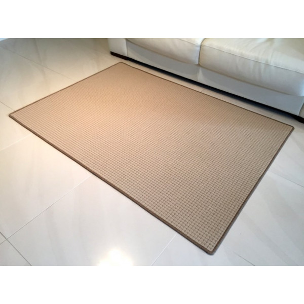 Vopi koberce Kusový koberec Birmingham béžový, koberců 57x120 cm Béžová - Vrácení do 1 roku ZDARMA