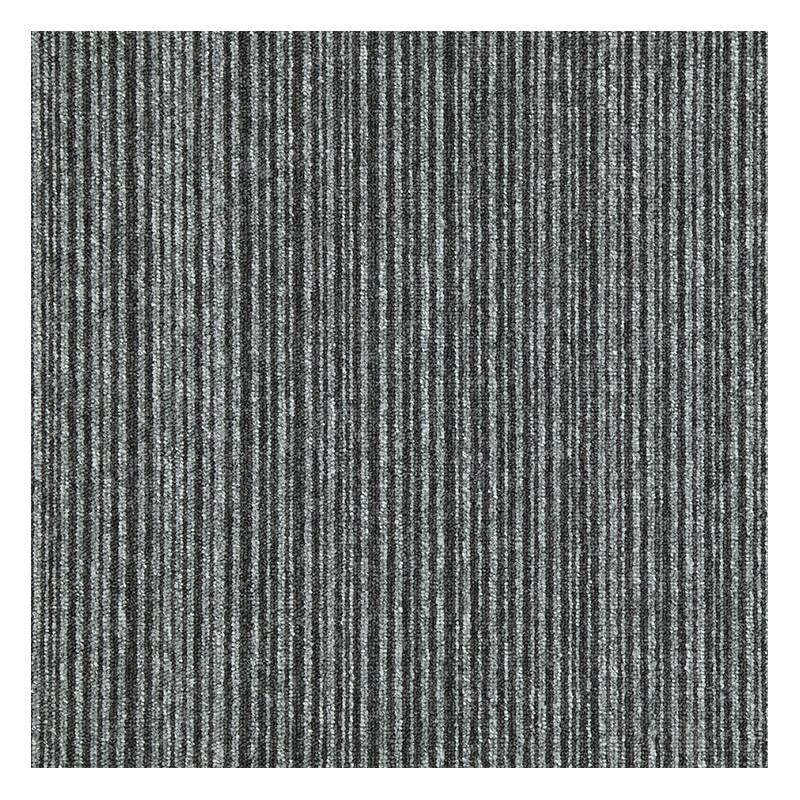 Kobercový čtverec Cobra Lines 5640 šedočerná