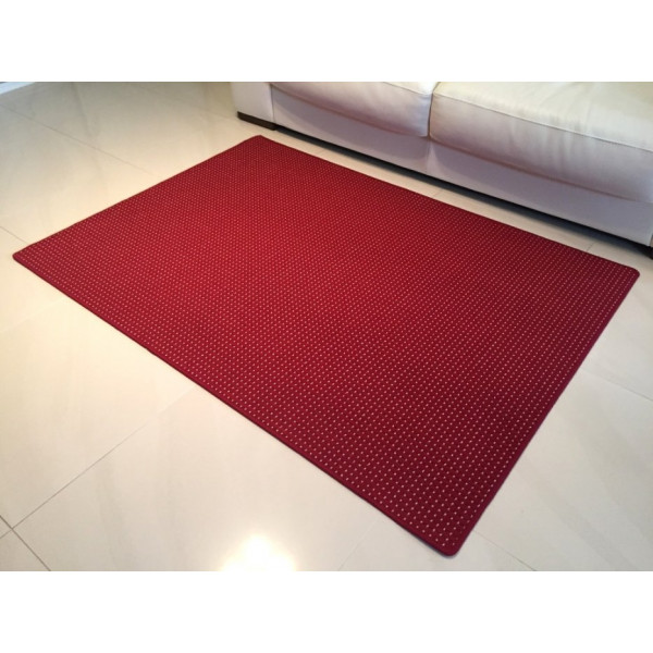 Kusový koberec Birmingham vínový