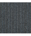 Kobercový čtverec Sonar Lines 4578 černomodrý