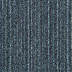 Kobercový čtverec Sonar Lines 4583 modrozelený