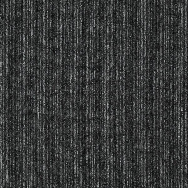 Kobercový čtverec Sonar Lines 4178 černý