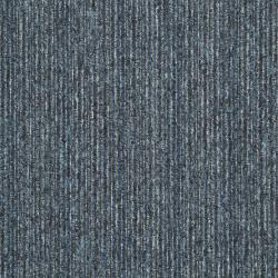 Kobercový čtverec Sonar Lines 4183 modrošedý