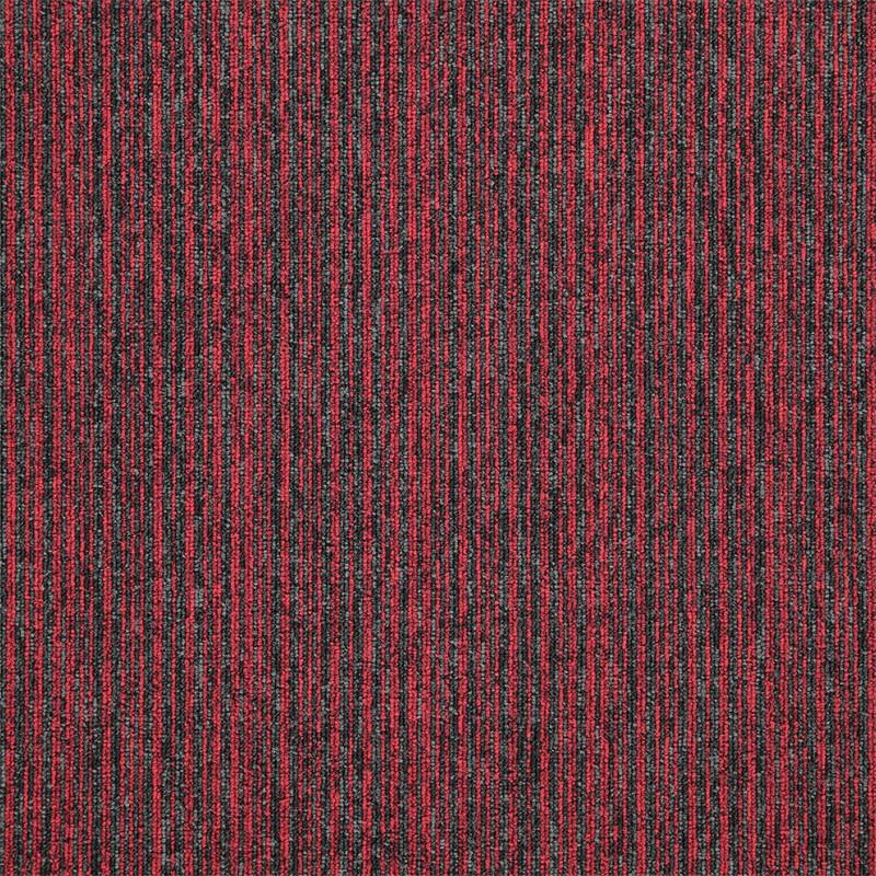 Kobercový čtverec Sonar Lines 4120 červený