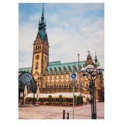 Koberec City Line 102997 140x190 cm Hamburgská radnice
