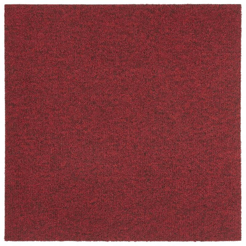 Kobercový čtverec Easy 103474 červený (20 kusů)