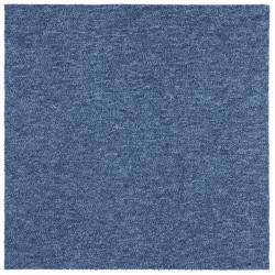 Kobercový čtverec Easy 103476 modrý (20 kusů)