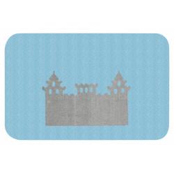Protiskluzový kusový koberec Niños 103076 Blue 67x120 cm
