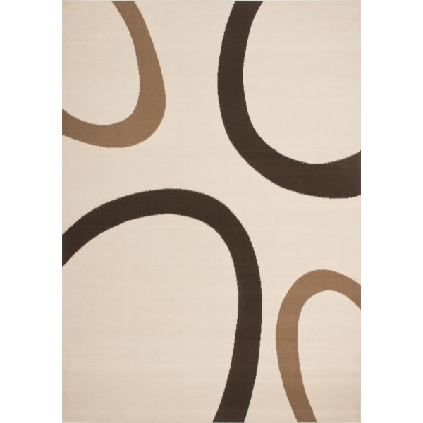 Lalee koberce Kusový koberec Contempo CON 659 ivory, koberců 160x230 cm Béžová - Vrácení do 1 roku ZDARMA