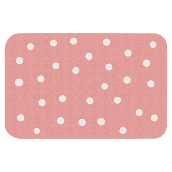 Protiskluzový kusový koberec Niños 103079 Rose 67x120 cm