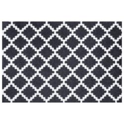 Protiskluzová rohožka Home Black White 103156