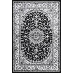 Kusový koberec Silkway X084B Black