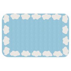 Protiskluzový kusový koberec Niños 103085 Blau 67x120 cm