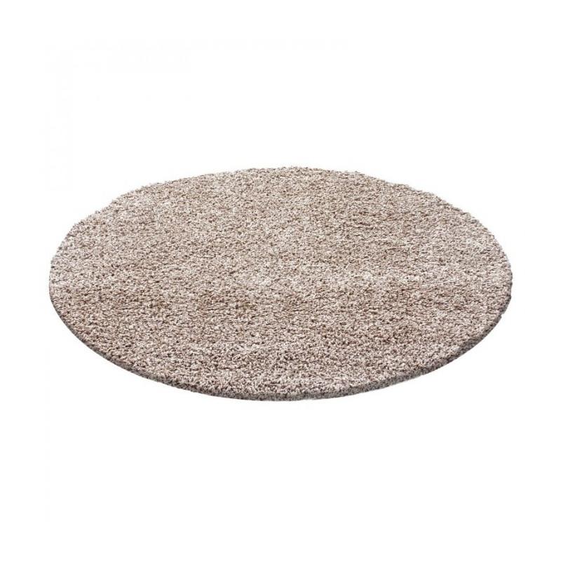 Kusový koberec Dream Shaggy 4000 beige kruh