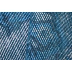 Ručně tkaný kusový koberec Blue Symmetry