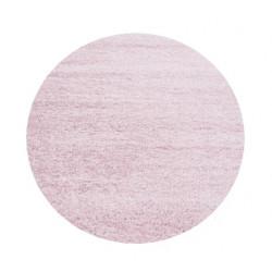 Kusový koberec Life Shaggy 1500 pink kruh