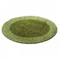 Kusový koberec Life Shaggy 1503 green kruh