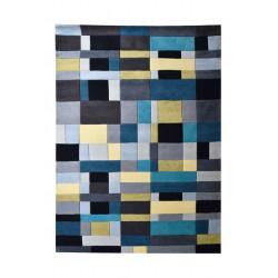 Ručně tkaný kusový koberec Geometric Mosaic