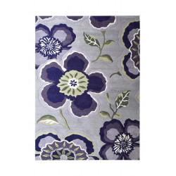 Ručně tkaný kusový koberec Purple Garden