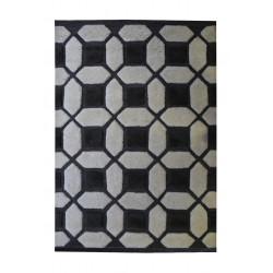Ručně tkaný kusový koberec Square Puzzle