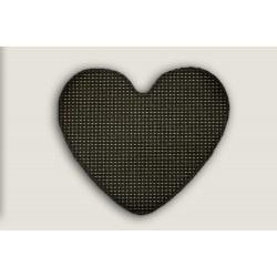 Kusový koberec Birmingham antra srdce