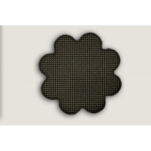 Kusový koberec Birmingham antra kytka