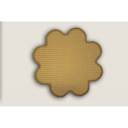 Kusový koberec Birmingham béžová kytka
