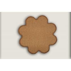 Kusový koberec Birmingham hnědý kytka
