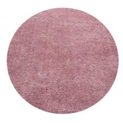 Kusový koberec Ancona shaggy 9000 rose kruh