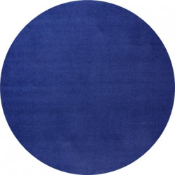 Modrý kulatý kusový koberec Fancy 103007 Blau kruh