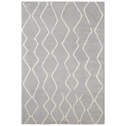 Kusový koberec Glow 103659 Silver Grey/Cream z kolekce Elle